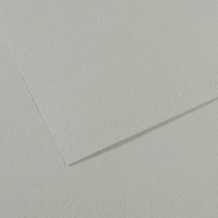 Papel Mi-Teintes Canson 354 50x65cm Cinza Azulado