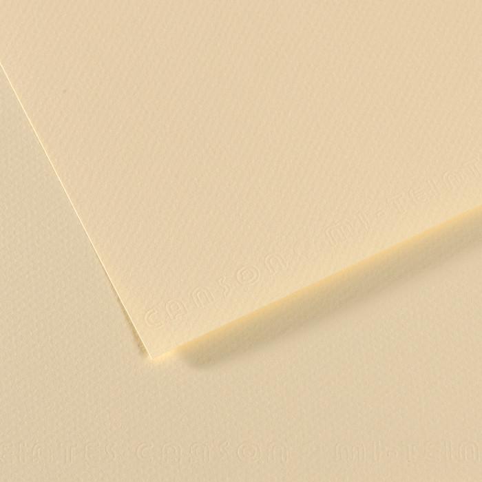 Papel Mi-Teintes Canson 101 50x65cm Citronela