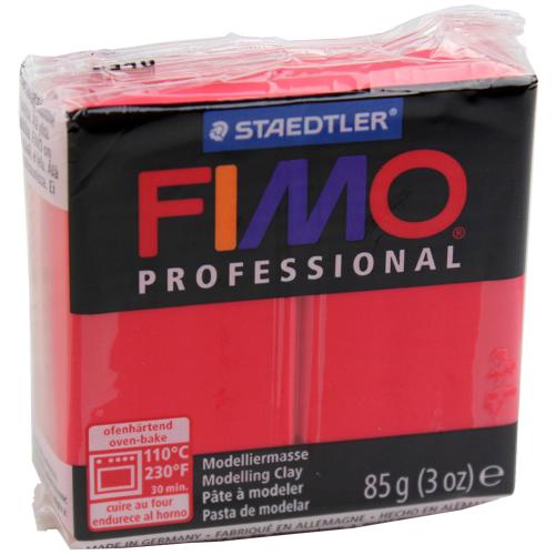 Massa Fimo Professional 85g Vermelho