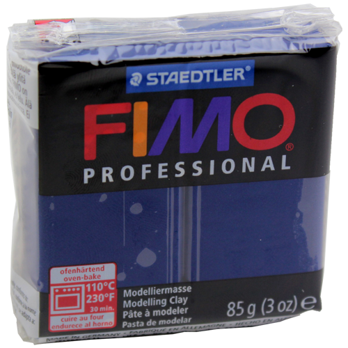 Massa Fimo Professional 85g Azul Marinho
