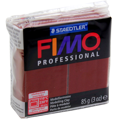 Massa Fimo Professional 85g Chocolate