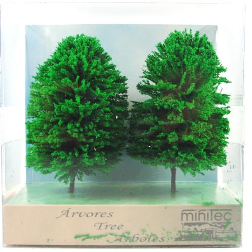 Árvore Para Maquete Minitec 02 Peças 758