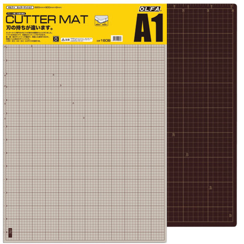 Base de Corte Manta A1 Black Olfa 60x90