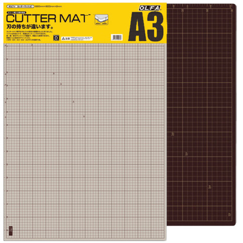 Base de Corte Manta A3 Black Olfa 30X45cm
