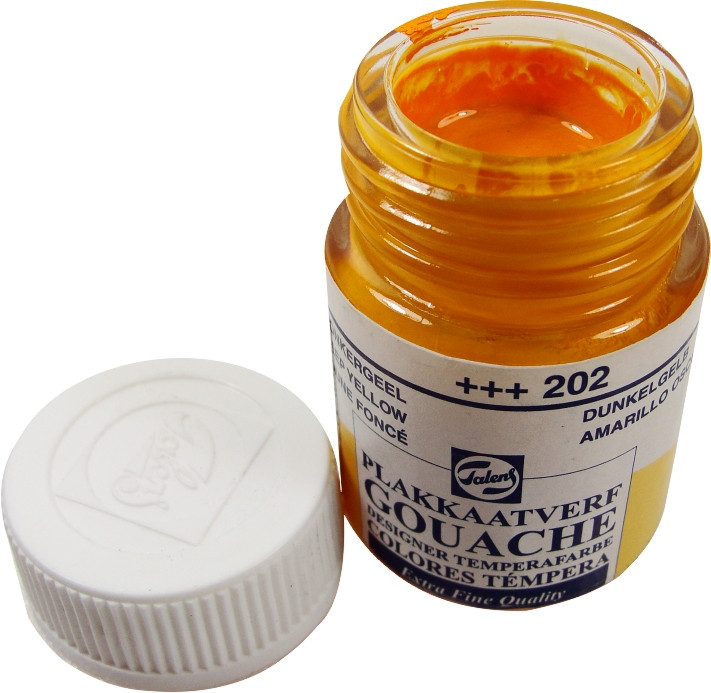 Guache Talens Extra Fine 16ml 202 Deep Yellow