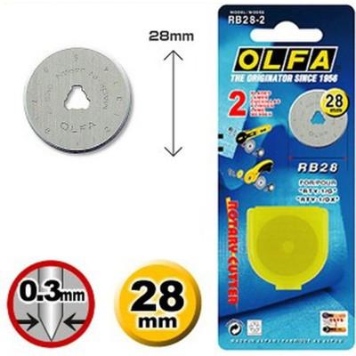 Lâmina Olfa RB 28-2