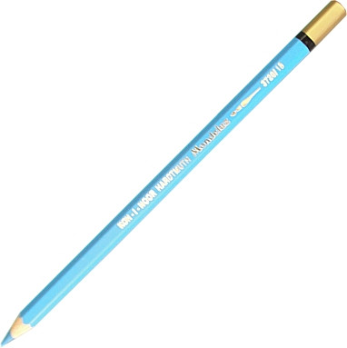 Lápis Aquarelado Koh-I-Noor Mondeluz 18 Light Blue