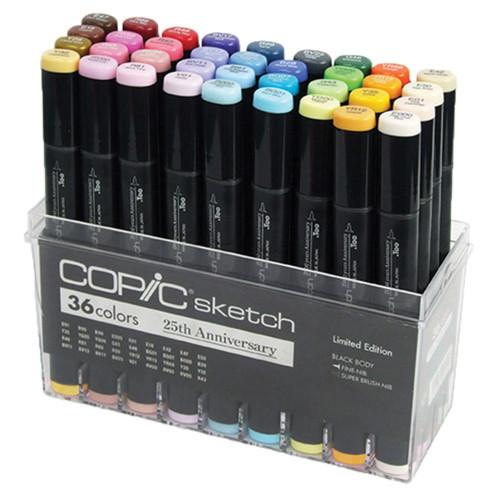 Copic Marker Sketch 36 Cores Edição Limitada