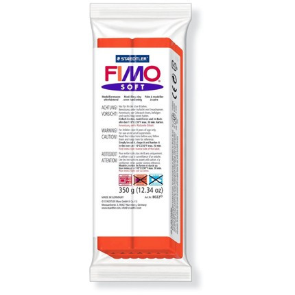 Massa Fimo Soft 350g 24 Indian Red