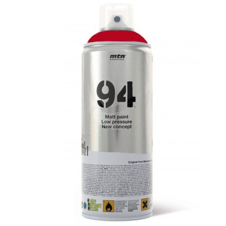 Tinta Spray MTN 94 Montana RV-3001  Rojo Vivo