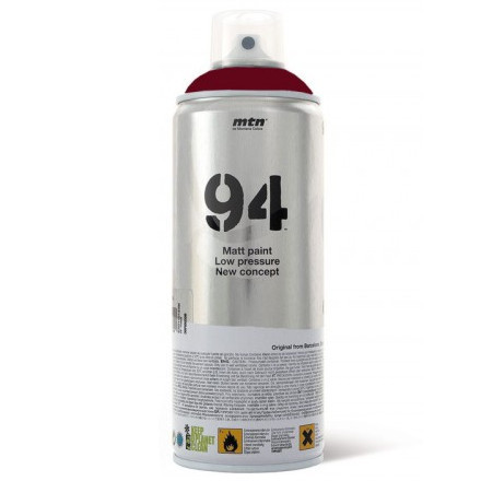 Tinta Spray MTN 94 Montana RV-3004 Rojo Burdeos