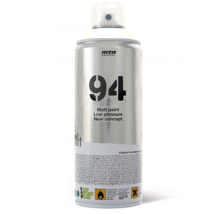 Tinta Spray MTN 94 Montana R-9010 Blanco