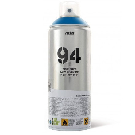 Tinta Spray MTN 94 Montana RV-30 Azul Electrico