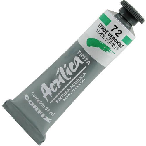 Tinta Acrílica Corfix 37ml 072 Verde Veronese