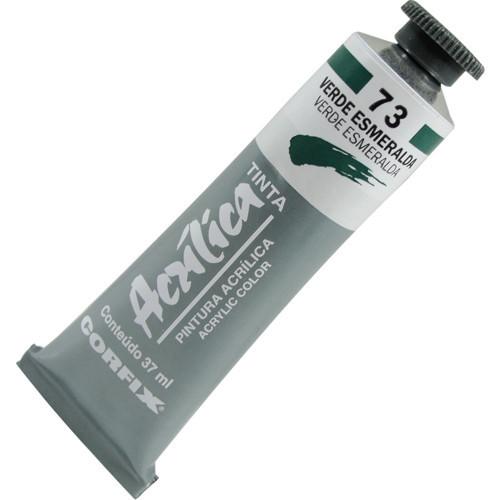 Tinta Acrílica Corfix 37ml 073 Verde Esmeralda