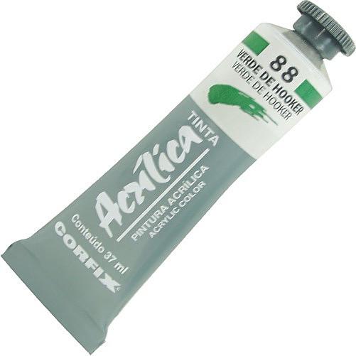 Tinta Acrílica Corfix 37ml 088 Verde de Hooker