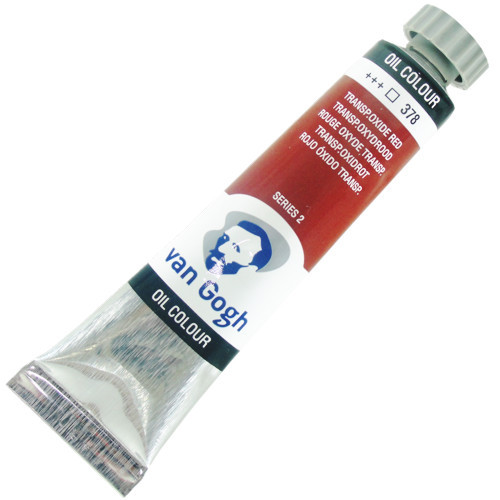 Tinta a Óleo Van Gogh 20ml 378 Transparent Oxide Red