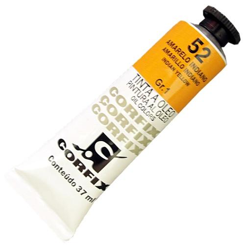 Tinta a Óleo Corfix 37ml 052 Amarelo Indiano G1