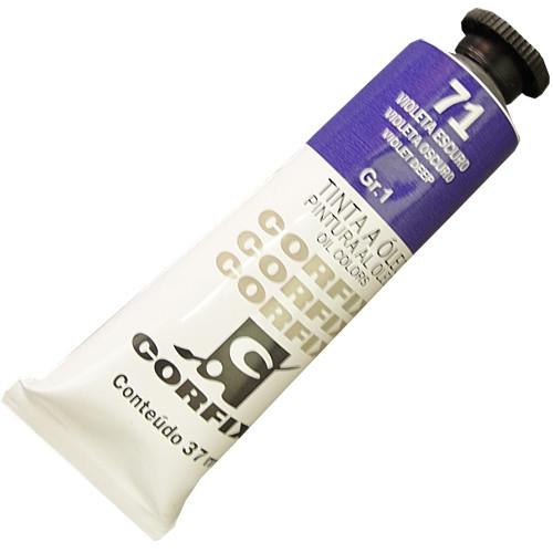 Tinta a Óleo Corfix 37ml 071 Violeta Escuro G1