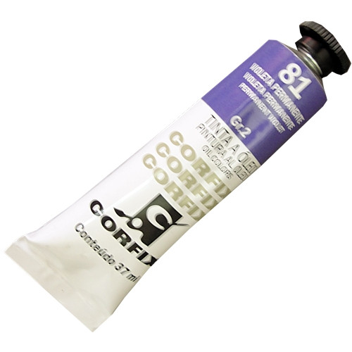 Tinta a Óleo Corfix 37ml 081 Violeta Permanente G2