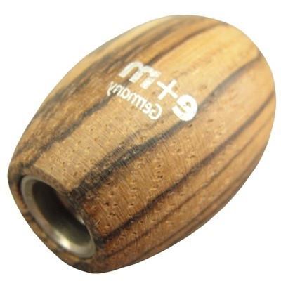 Apontador Para Minas 5.6mm E+M Oval Zebrano