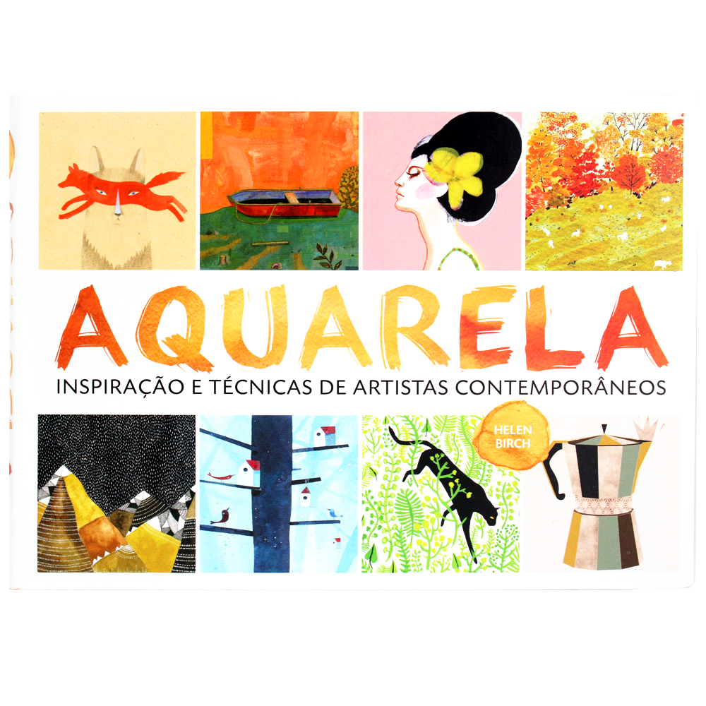 Aquarela - Inspiração e Técnicas de Artistas Contemporâneos