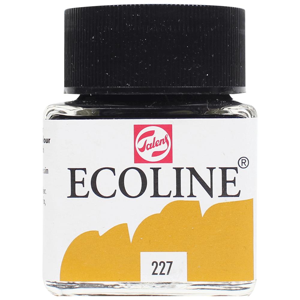 Tinta Ecoline Talens 30ml 227 Yellow Ochre