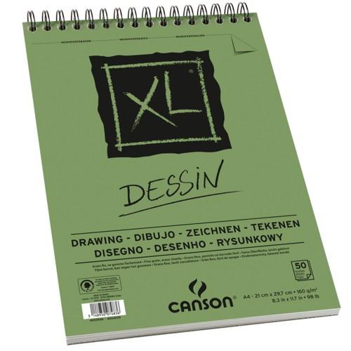 Bloco de Desenho A4 XL Dessin Canson