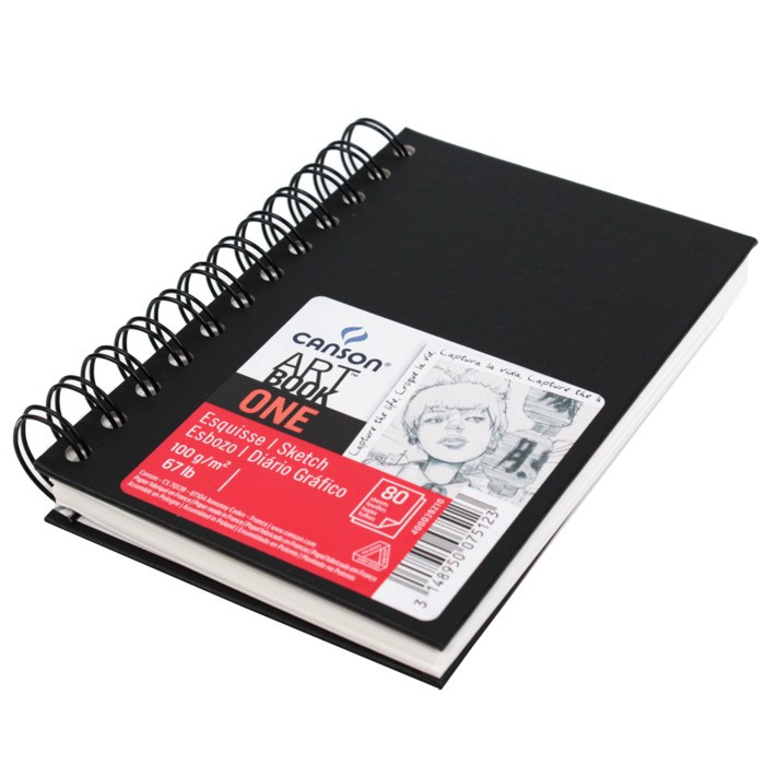 Bloco Espiral Sketchbook Canson One A6 10,2x15,2cm