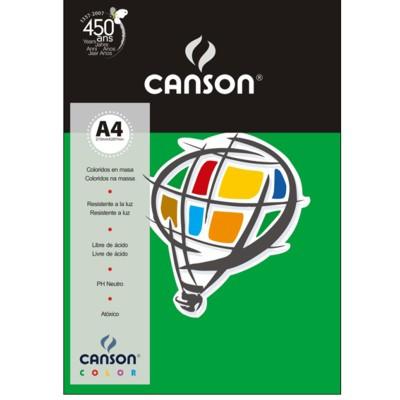 Papel Colorido A4 180g/m² 10 Folhas 20 Verde Escuro