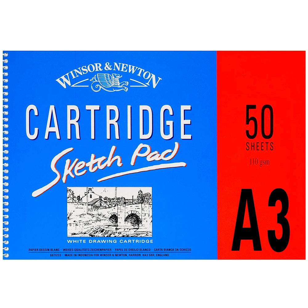 Bloco de Papel Winsor & Newton Sketch Pad A3