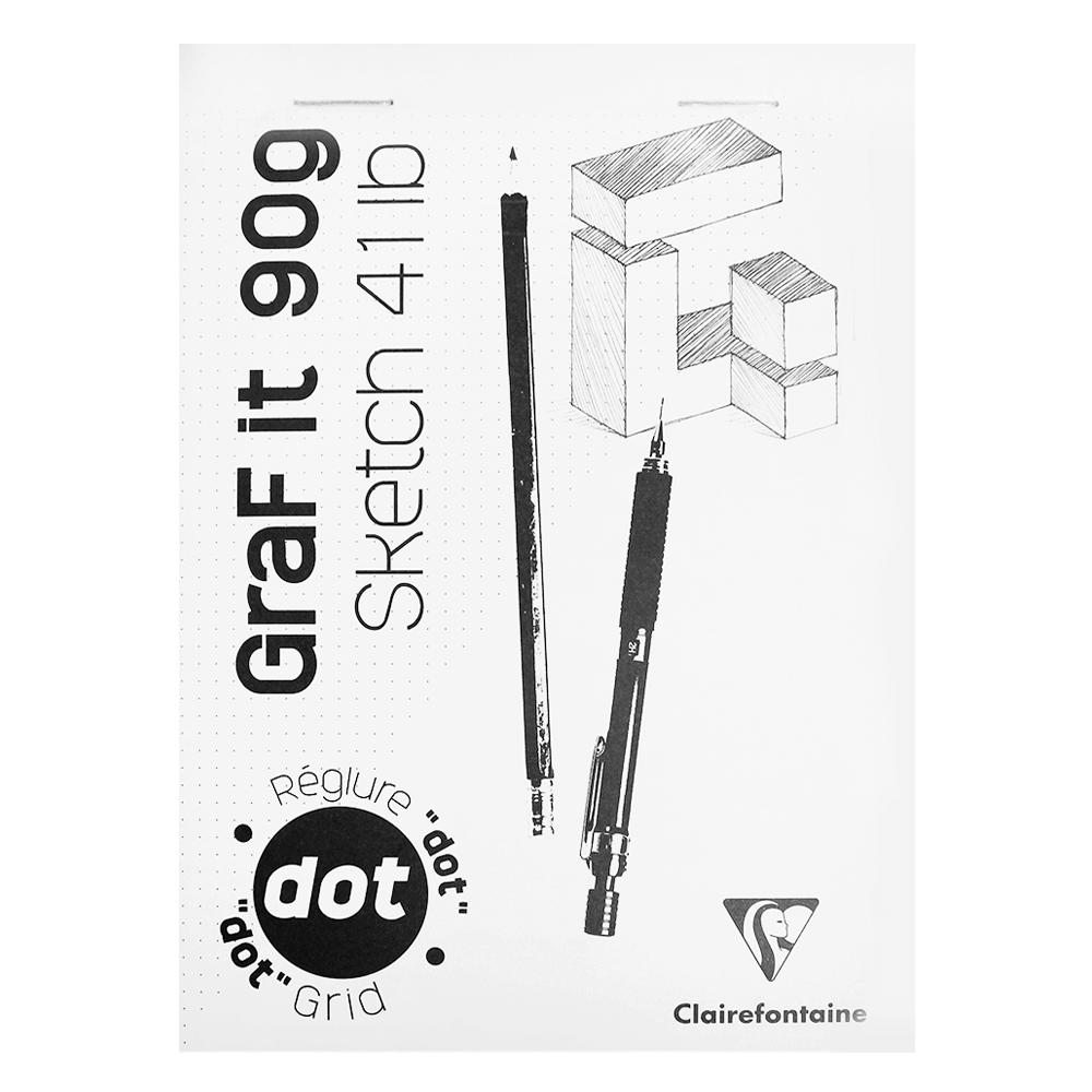 Bloco de Desenho Graf It DOT A5 80 Folhas