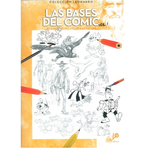 Coleção Leonardo 33 Las Bases Del Comic Vol. I