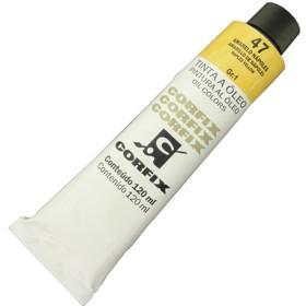 Tinta a Óleo Corfix 120ml 047 Amarelo Nápoles G1