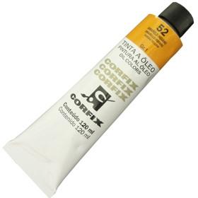 Tinta a Óleo Corfix 120ml 052 Amarelo Indiano G1