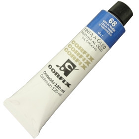 Tinta a Óleo Corfix 120ml 068 Azul Ultramar G1