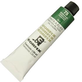 Tinta a Óleo Corfix 120ml 075 Verde Inglês G1