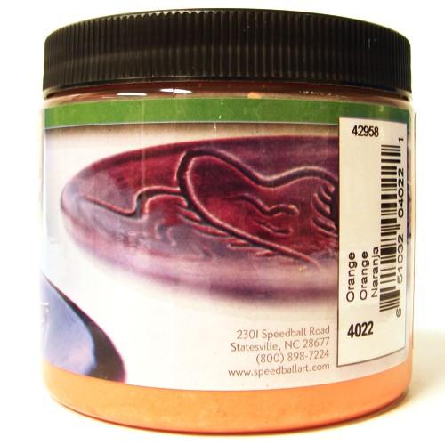 Esmalte Para Cerâmica Glaze Speedball 4022 Orange