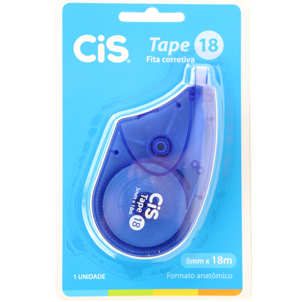 Fita Corretiva Cis Tape 18mm