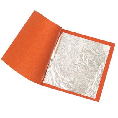 Folha de Prata Imitação 14X14cm 10000 Folhas