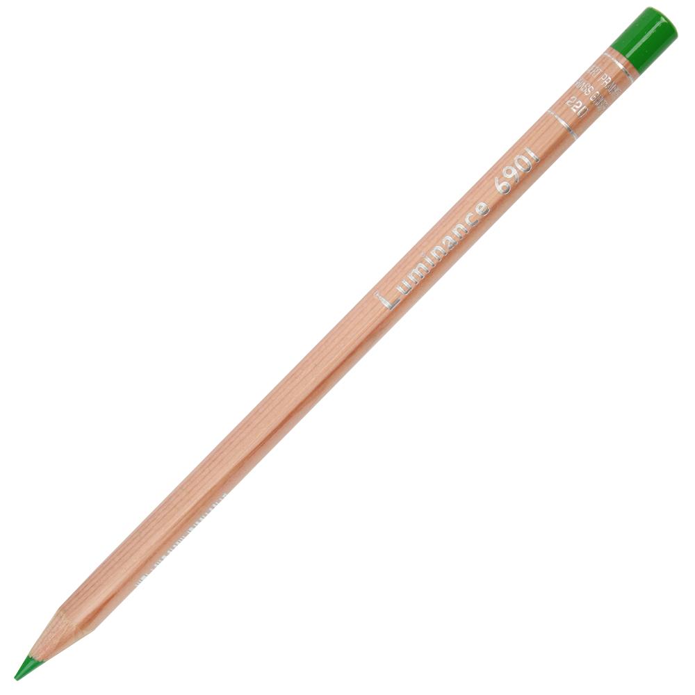 Lápis de Cor Caran d'Ache Luminance 220 Grass Green