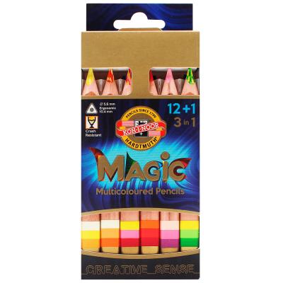 Lápis Multicolorido Estojo com 12 Cores KOH-I-NOOR