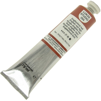 Tinta a Óleo Lukas Studio 75ml 254 English Red