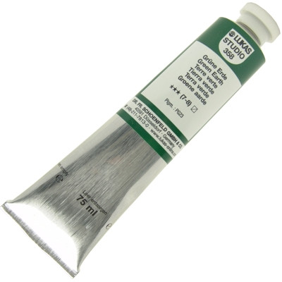 Tinta a Óleo Lukas Studio 75ml 358 Green Earth