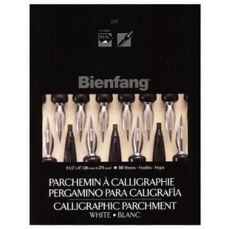 Papel Para Caligrafia Pergaminho Branco