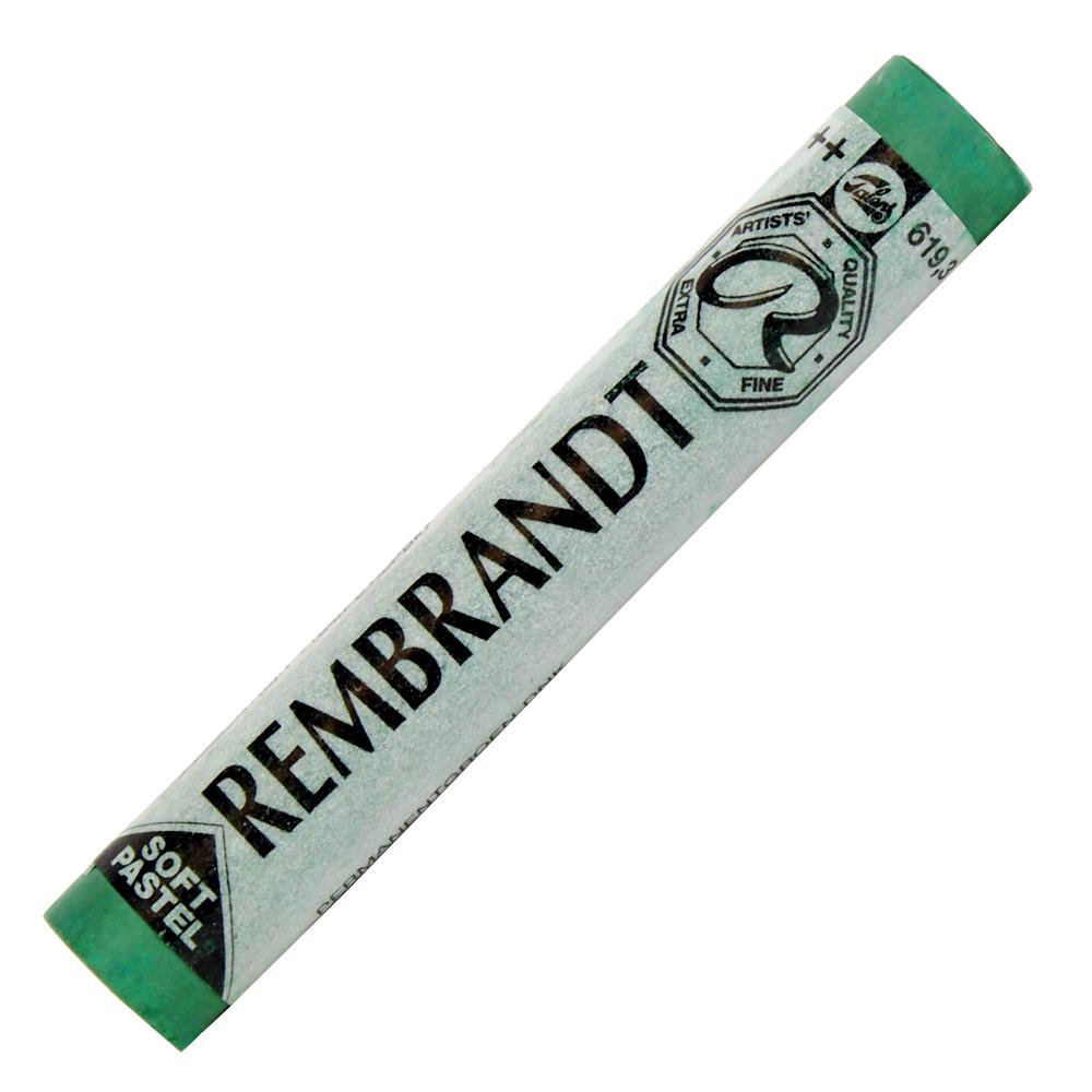 Pastel Seco Rembrandt Talens 619.3 Permanent Green Deep