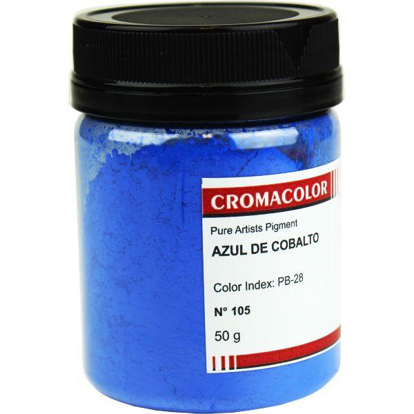 Pigmento Artístico Cromacolor 105 Azul Cobalto 50G