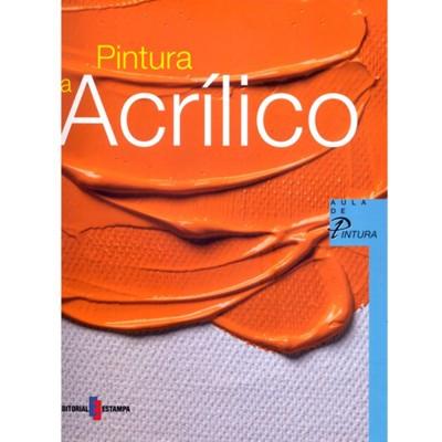 Livro de Pintura a Acrílico