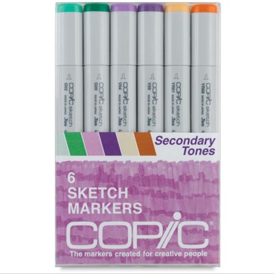 Copic Markers Secondary Tones com 06