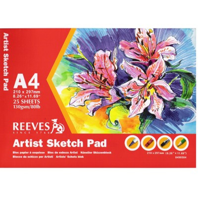 Bloco de Papel Sketch Reeves A4